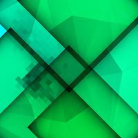 Fondo poligonal moderno colorido abstracto