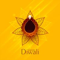 creative happy diwali traditional background design
