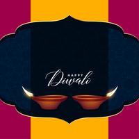 Hindu diwali Verkaufsgrußdesign mit Textraum