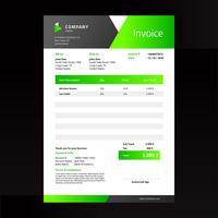 Green Elegance Invoice Template