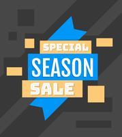 Spezieller Saisonverkauf