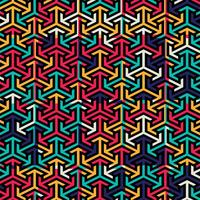 Abstract colorful pattern background vector