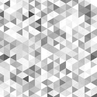 Modern gray geometric pattern vector design