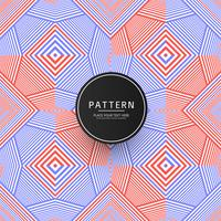 Elegant colorful geometric pattern background