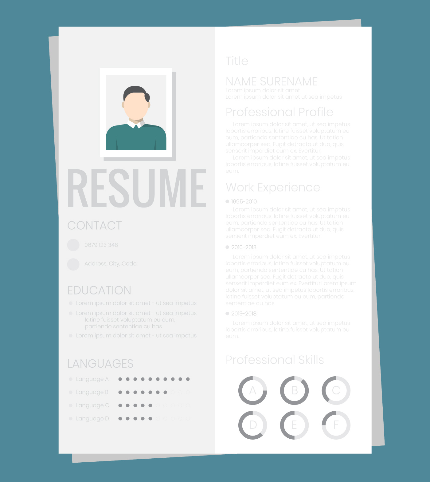 Resume Paper Download Free Vectors Clipart Graphics Vector Art