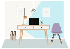 Vector Designer's Desktop Illustratie