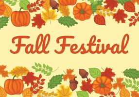 Fall Festival Illustration