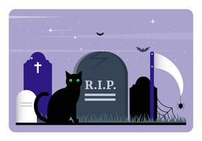 Vector elementi di Halloween e accessori