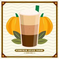 Unique Pumpkin Spice Vectors