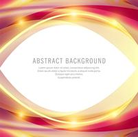Abstract colorful business stylish shiny wavy background