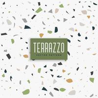 klassisches Terrazzo-Muster Hintergrunddesign