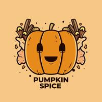 Pumpa Spice Vector
