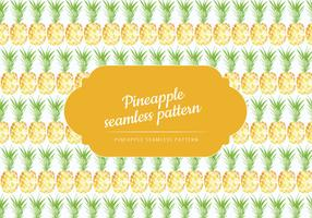 Vector Hand Drawn Pineapple Pattern