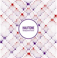 Elegant colorful halftone line background