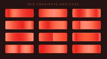 bright red shiny gradients background