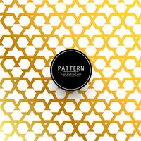 Beautiful golden geometric shape background