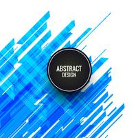 Abstract blue lines background vector