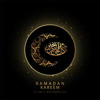Elegant Ramadan Kareem shiny background