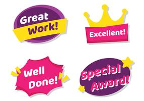 Teacher Award Stickers