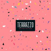 pink terrazzo pattern background design
