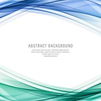 Abstract colorful business wave background