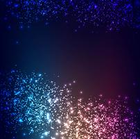 Modern colorful glitters background vector