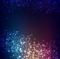 Moderner bunter Glitterhintergrundvektor