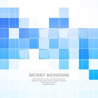 Abstract blue squares vector background