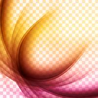 Beautiful colorful wave vector background