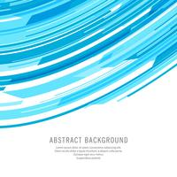 Abstract blue technology wave background