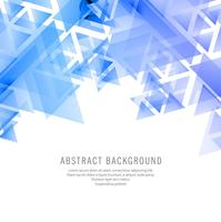 Abstract blue geometric polygon background
