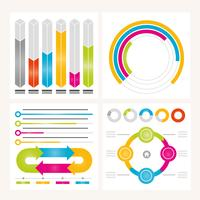 Vektor Infographic Elements och Illustration