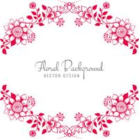 Modern decorative creative wedding floral background