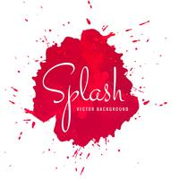 Beautiful hand drawn colorful watercolor splash background vector