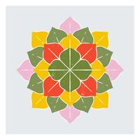 Fiori succulenti Desert Plant Linoleografia stile