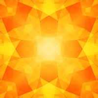 Abstract yellow polygon background