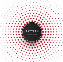 Abstract red dots pattern background