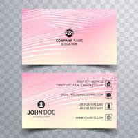Modern business card template vector design
