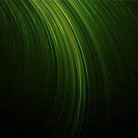 Beautiful creative line green wave background vector