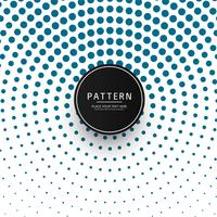 Beautiful circular halftone pattern design