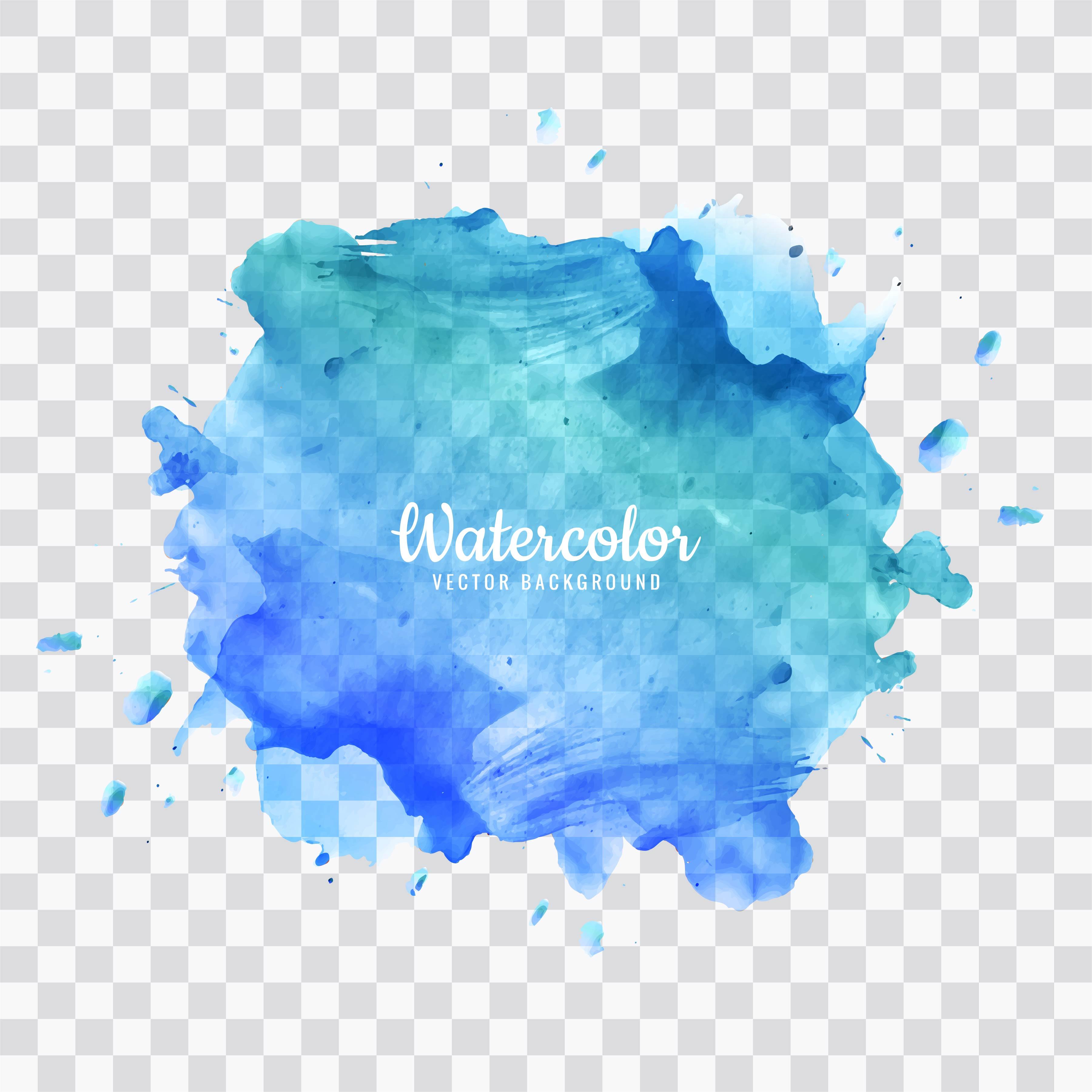 Blue Watercolor Splash Background Download Free Vectors Clipart Graphics Vector Art