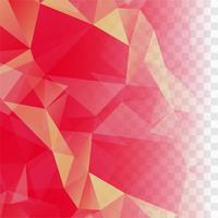 Modern pink polygon vector background