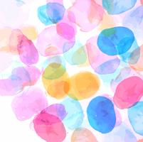 Beautiful colorful watercolor spot background