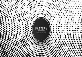 Modern halftone background illustration