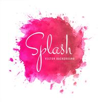 Modern watercolor splash background