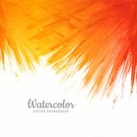 Abstract colorful stroke watercolor vector background
