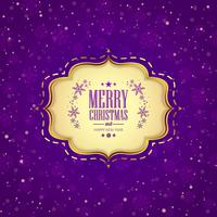 Merry christmas greeting card snowflakes decorative background