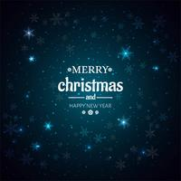 Beautiful Shiny Merry Christmas background vector
