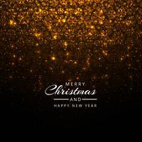 Beautiful festival shiny glitters christmas background