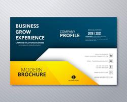 Abstract business brochure carte modèle illustration vecteur